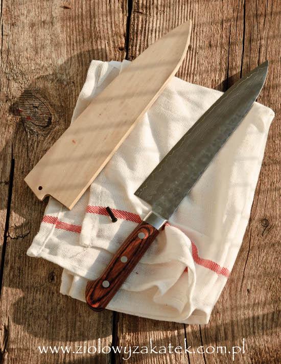 Pielęgnacja noża kuchennego, część II.