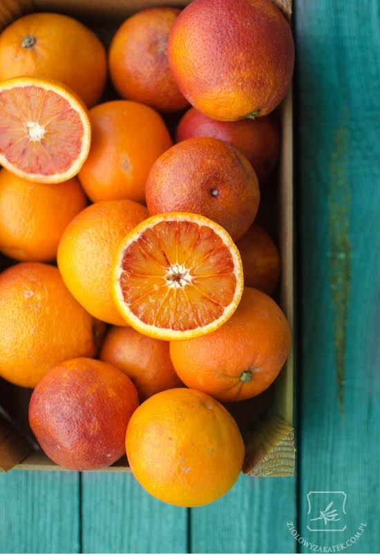 Pomarańcze czerwone ekologiczne