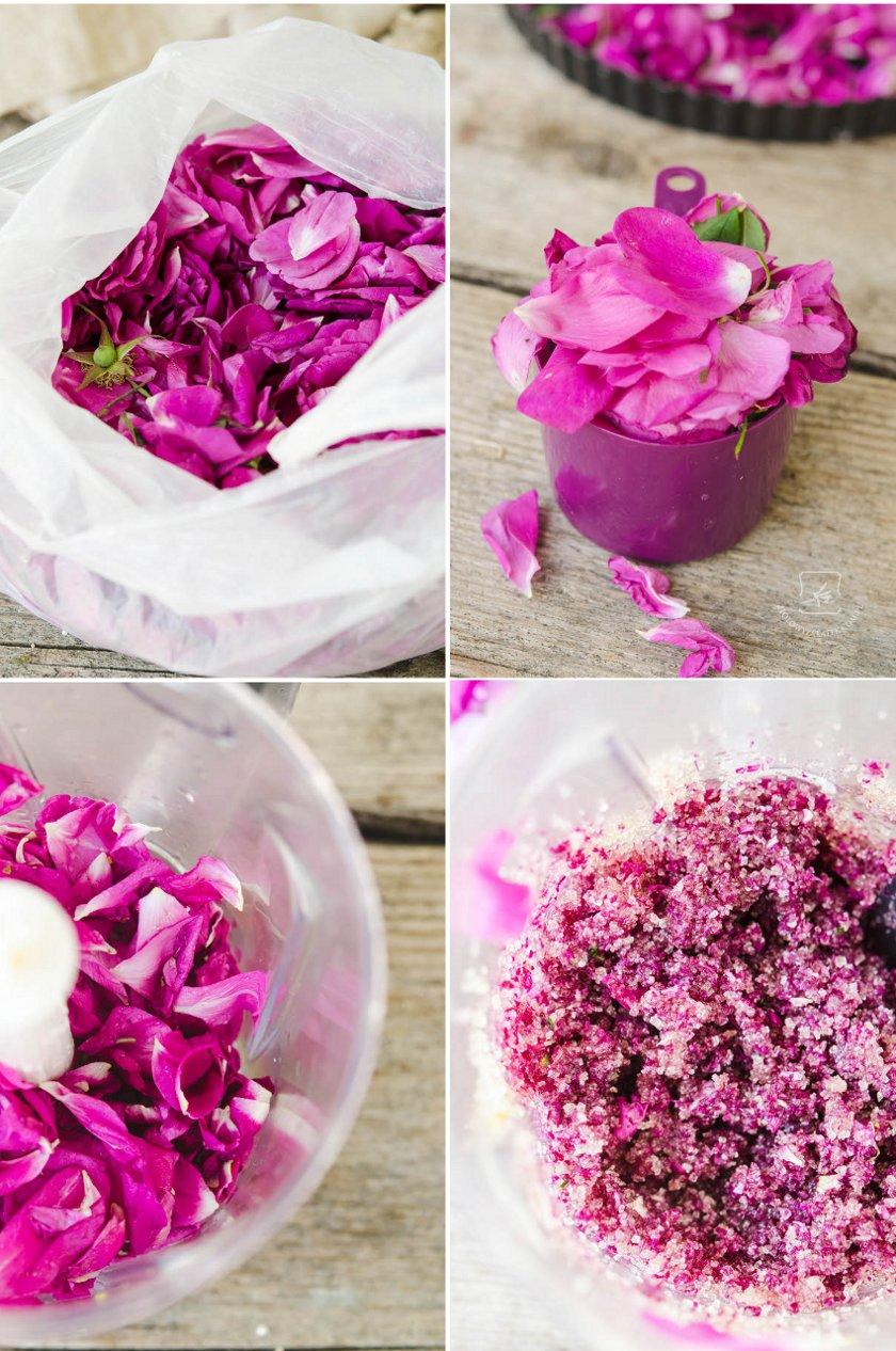 Rose petals ice cream. Home made. | Klaudyna Hebda