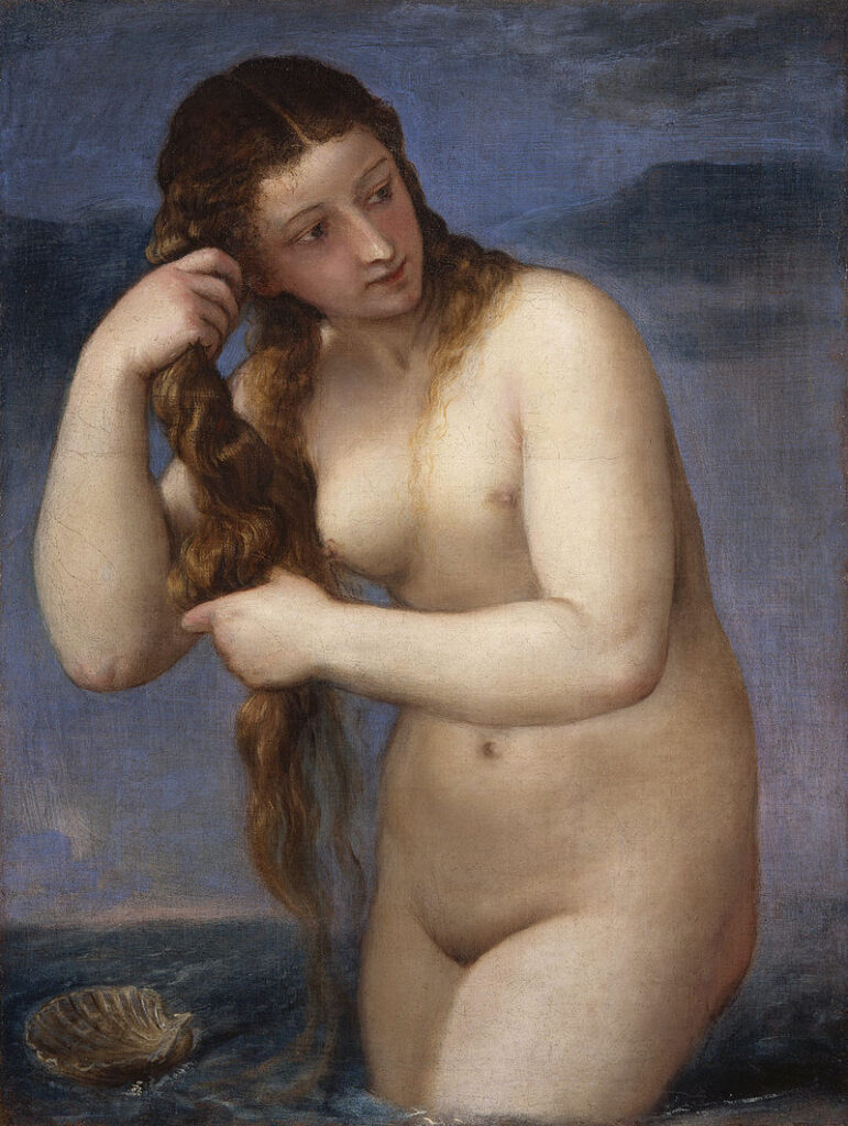 800px-TITIAN_-_Venus_Anadyomene_(National_Galleries_of_Scotland,_c._1520._Oil_on_canvas,_75.8_x_57.6_cm)
