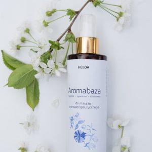 AROMABAZA - olej do masażu aromaterapeutycznego