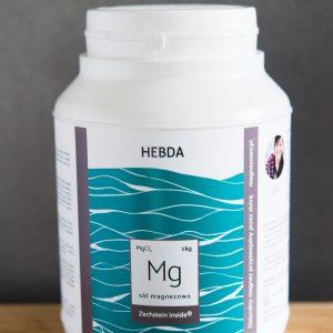 Sól magnezowa do kąpieli (transdermalna)