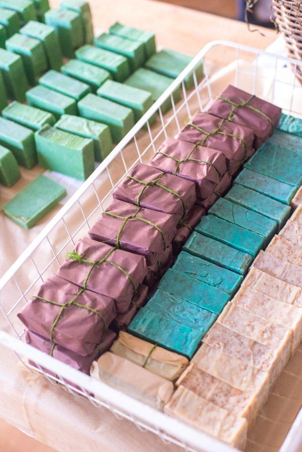 Zestaw Mydeł w Kolorze Ziemi (NA PREZENTY)