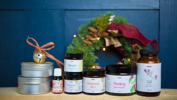 Korzenny zestaw alchemicznych kosmetyków na przetrwanie zimy