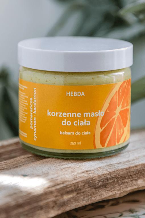 Masło korzenne do ciała Klaudyna Hebda sklep