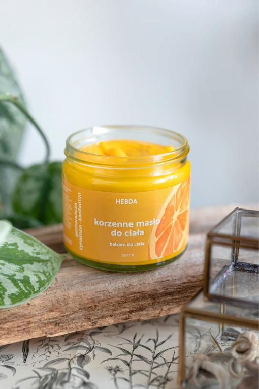 Masło korzenne do ciała