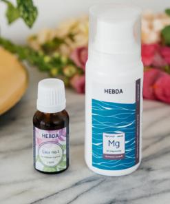 Zestaw na bolący okres i PMS - żel magnezowy 100 ml i mieszanka Gaja