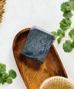 Mydło kolendrowe czarne oczyszczające