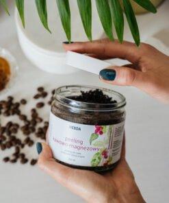 Peeling kawowo-magnezowy