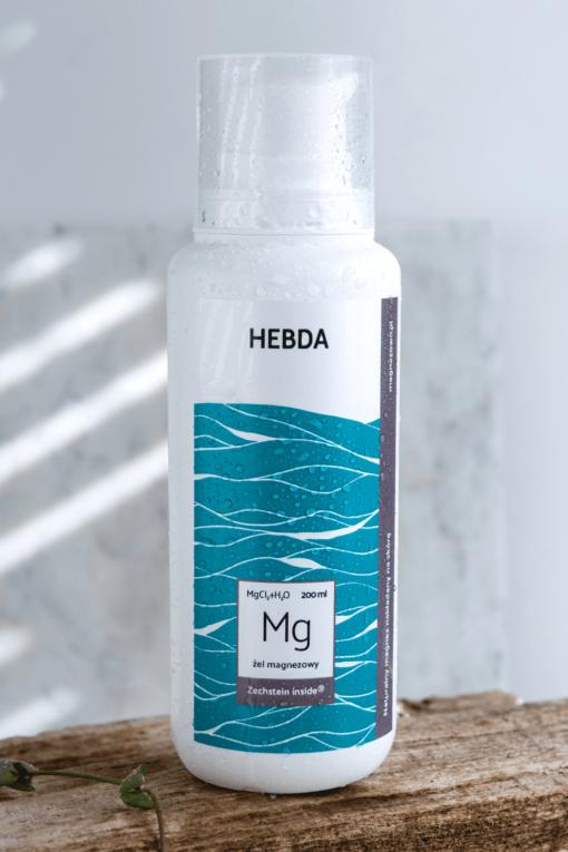 Butelka żelu magnezowego Klaudyna Hebda magnez transdermalny