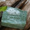 Naturalne mydło miętowe z otrębami