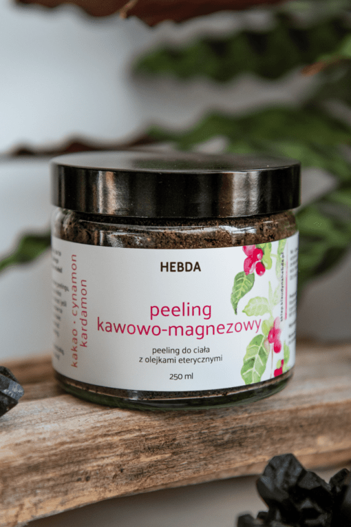 Peeling kawowo-magnezowy Klaudyna Hebda sklep