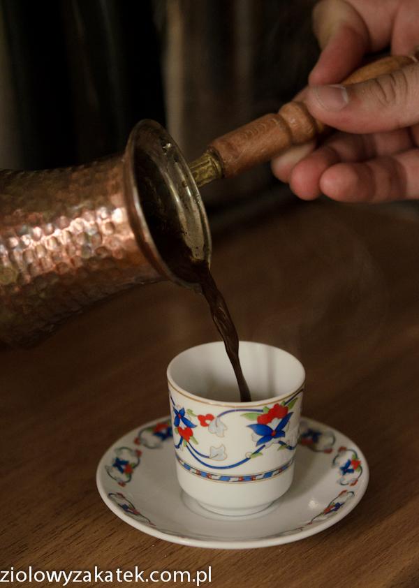 Kawa po turecku – przepis.