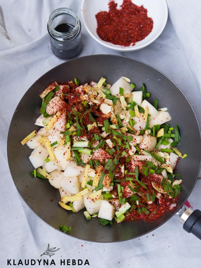Kiszona rzepa czyli kimchi kkakdugi