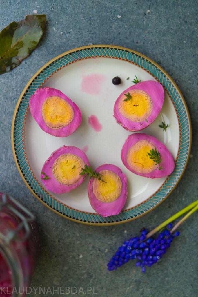Kiszone jajka [fermentacja/buraczki/czosnek]
