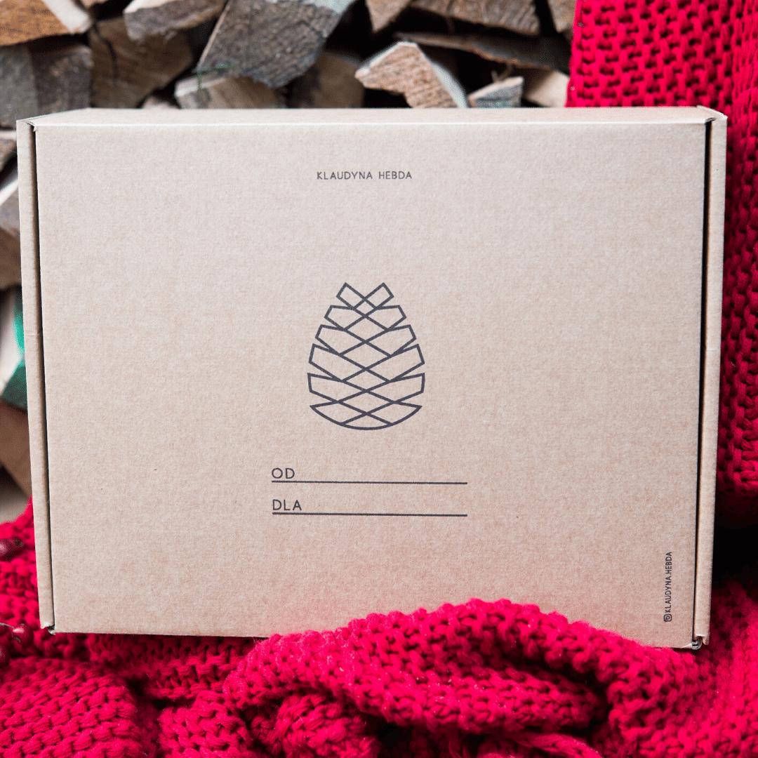Pudełko świąteczne Klaudyna Hebda Blog Olejki eteryczne na święta