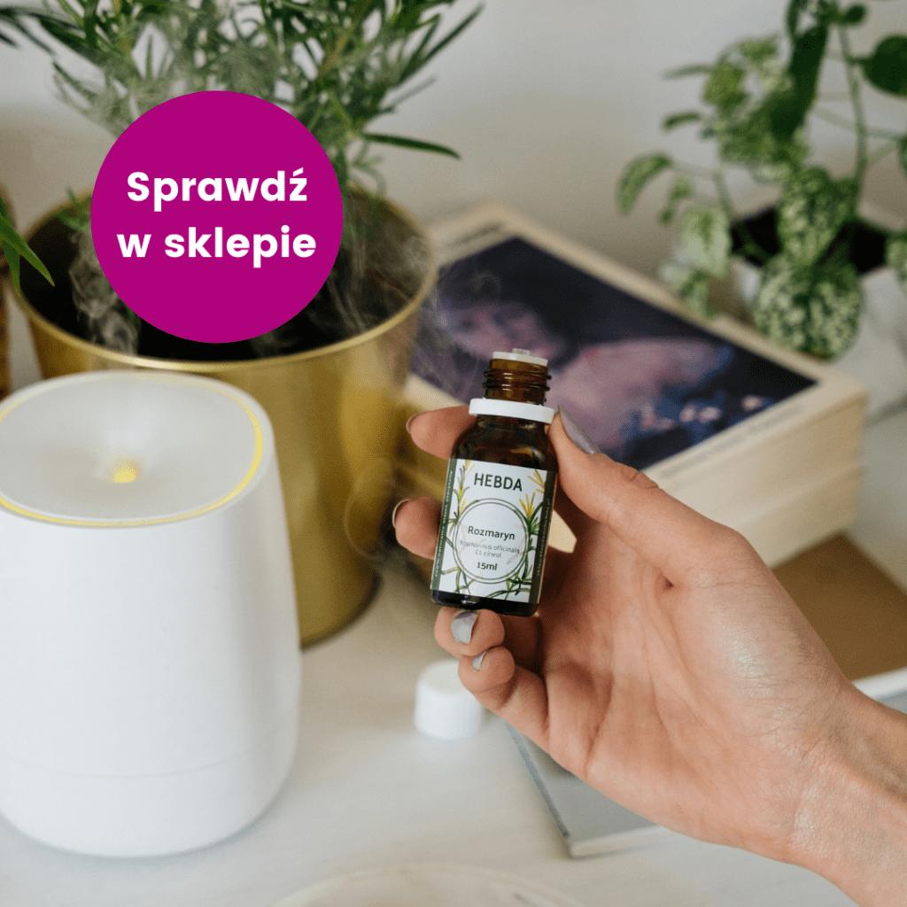 Olejek rozmarynowy jako naturalny sposób na komary